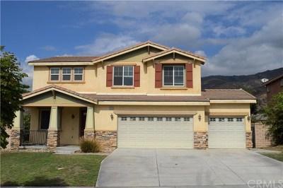 Fontana Single Family Home For Sale: 15412 Thistle Street