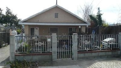 Altadena Single Family Home For Sale: 508 Archwood Place