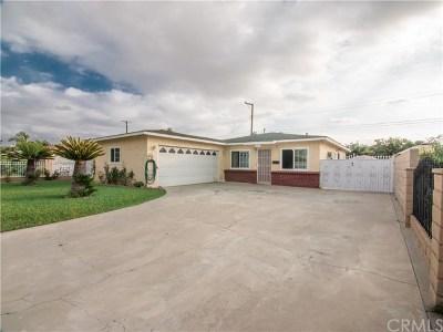 Baldwin Park Single Family Home For Sale: 13340 Corak