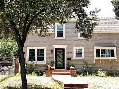 Pasadena Single Family Home For Sale: 1883 N Marengo