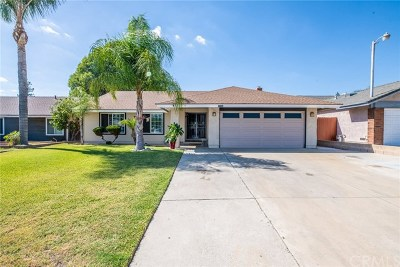 Chino Single Family Home For Sale: 12264 Roswell Avenue