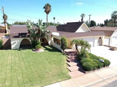 San Dimas Single Family Home Active Under Contract: 810 N Pershore Avenue