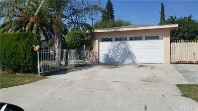 La Puente Single Family Home For Sale: 345 League Avenue