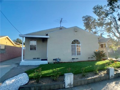 Torrance Single Family Home For Sale: 1528 W 223rd Street