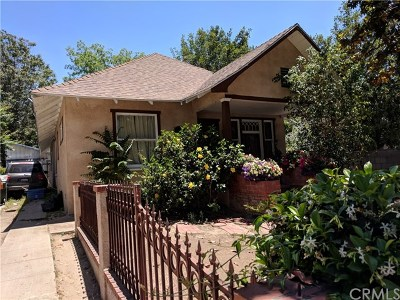 Pasadena Single Family Home For Sale: 510 N El Molino Ave