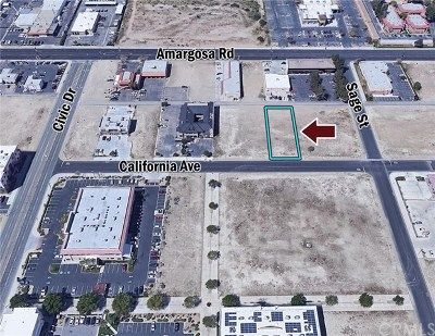 Victorville Residential Lots & Land For Sale: California Avenue