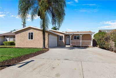 West Covina Single Family Home For Sale: 1641 S Mayland Avenue