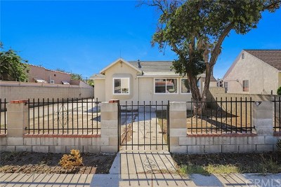 La Puente Single Family Home For Sale: 13746 Proctor Avenue