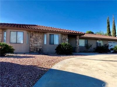 Hesperia Single Family Home For Sale: 15093 Mesquite Street