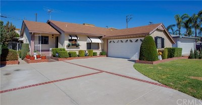 Covina Single Family Home For Sale: 527 W Gragmont Street