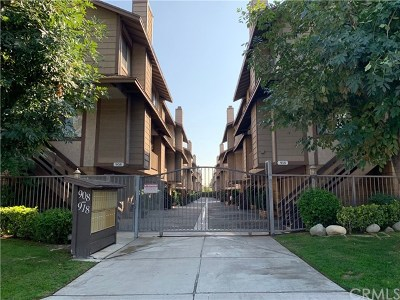 Monrovia Condo/Townhouse For Sale: 918 W Foothill Boulevard #C