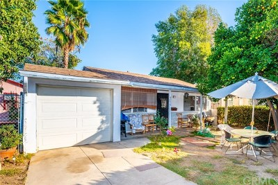 El Monte Single Family Home For Sale: 4036 Velma Avenue