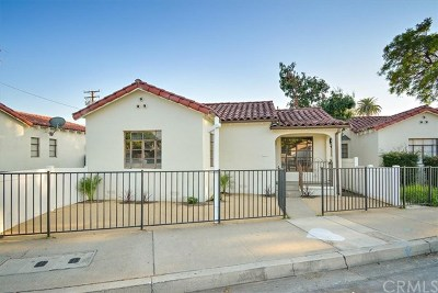 Pomona Single Family Home For Sale: 176 W Orange Grove Avenue