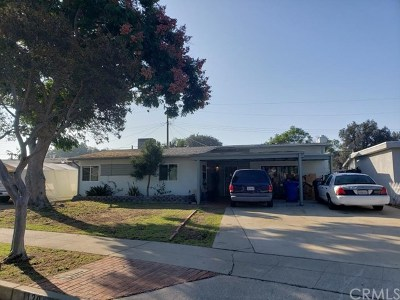 Pomona Single Family Home For Sale: 1120 Baldwin Avenue