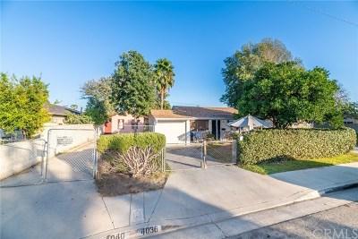 El Monte Multi Family Home For Sale: 4036 Velma Avenue