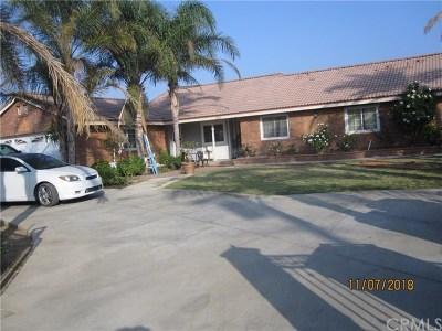 Jurupa Single Family Home For Sale: 5892 Marlatt Street