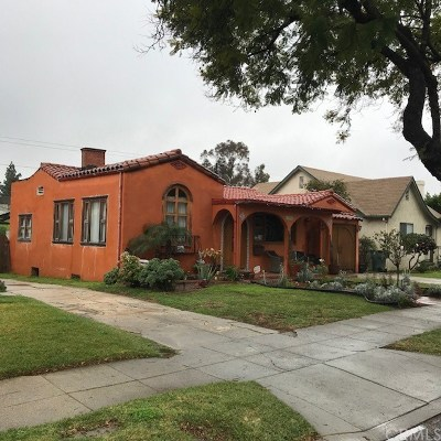 Pasadena Single Family Home For Sale: 1904 Wagner Street