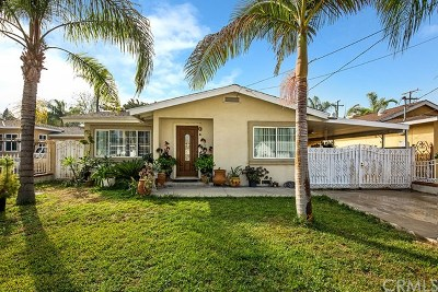 Pomona Single Family Home For Sale: 1622 Laurel Avenue