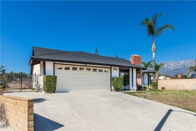 Rancho Cucamonga Single Family Home Active Under Contract: 10016 Effen Street