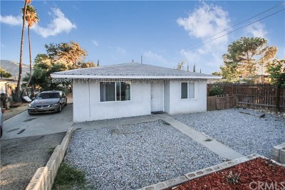Banning Single Family Home For Sale: 866 E George Street