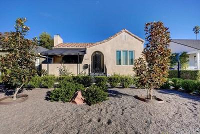 Pasadena Single Family Home For Sale: 1841 Rose Villa Street