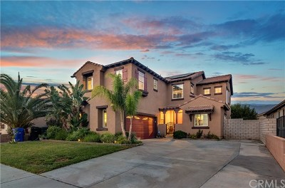 Rancho Cucamonga Single Family Home For Sale: 12936 Claret Court