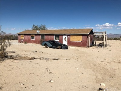 Lucerne Valley Single Family Home For Sale: 36076 Valinda