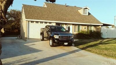 La Puente Single Family Home For Sale: 16757 Doublegrove Street