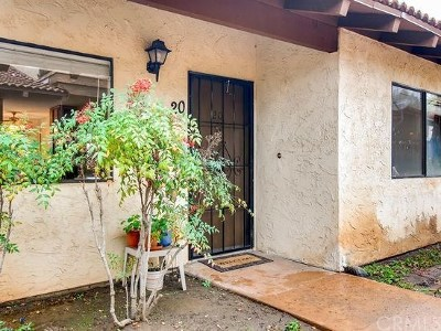 Escondido Condo/Townhouse For Sale: 625 S Fig Street #20