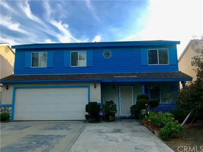 La Puente Single Family Home For Sale: 17022 Wing Lane