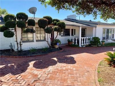 Glendora Single Family Home For Sale: 106 E Juanita Avenue