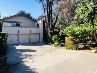 Arcadia Single Family Home For Sale: 1049 Don Alvarado Street