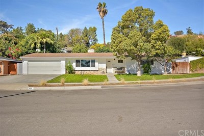La Habra Single Family Home For Sale: 321 Olinda Avenue