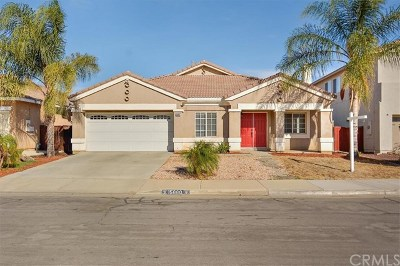 Moreno Valley Single Family Home For Sale: 15660 Lucia Lane
