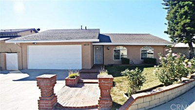 West Covina Single Family Home For Sale: 3017 Helen Lane