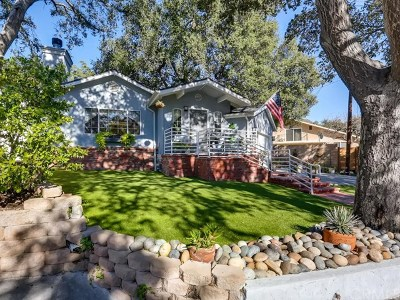 La Crescenta Single Family Home For Sale: 2821 Henrietta Avenue