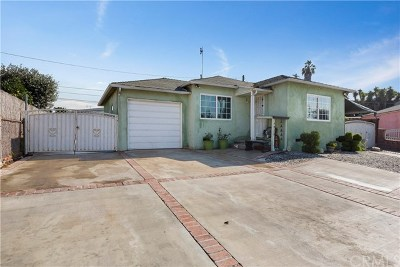 Gardena Single Family Home For Sale: 14926 S Menlo Avenue
