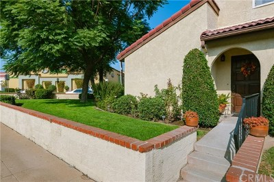 San Gabriel Condo/Townhouse For Sale: 233 W Mission Road