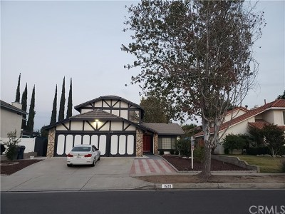 Redlands Single Family Home For Sale: 1520 Clay Street