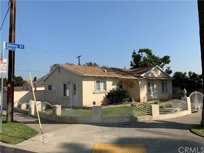 Hacienda Heights Single Family Home For Sale: 15003 Binney Street