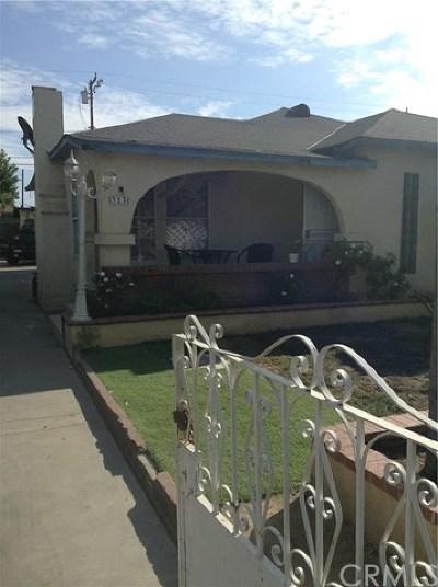 Santa Ana Single Family Home For Sale: 313 N Jackson Street