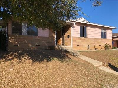 La Mirada Single Family Home For Sale: 14629 Richvale