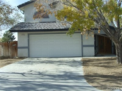 California City Single Family Home For Sale: 21101 Windsong Street