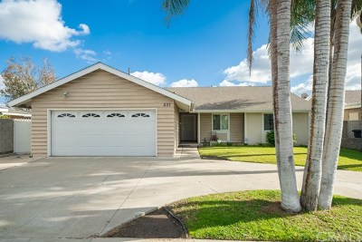 Orange Single Family Home For Sale: 237 N Eckhoff Street