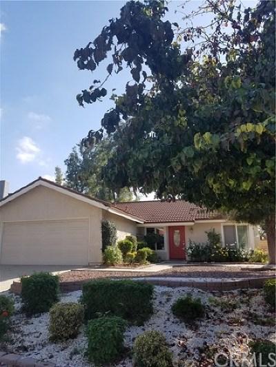Walnut Single Family Home For Sale: 19426 Avenida Del Sol