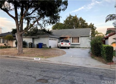 Downey Single Family Home Pending: 12724 Grovetree Avenue