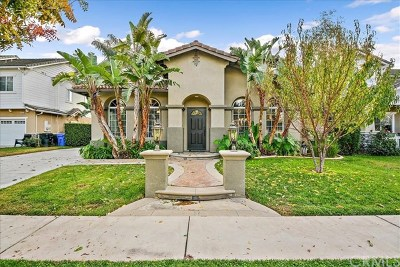 Rancho Cucamonga Single Family Home Active Under Contract: 9353 Biscayne Drive