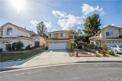Chino Hills Single Family Home For Sale: 2269 Creekwood Lane