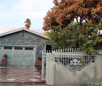 Pomona Single Family Home For Sale: 637 E 7th Street