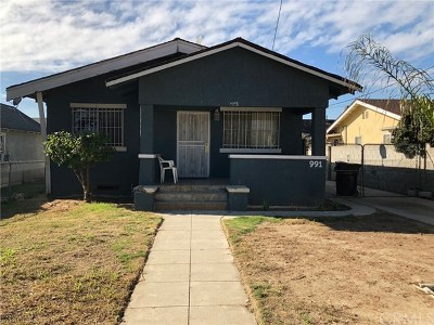 Pomona Single Family Home For Sale: 991 S White Avenue S